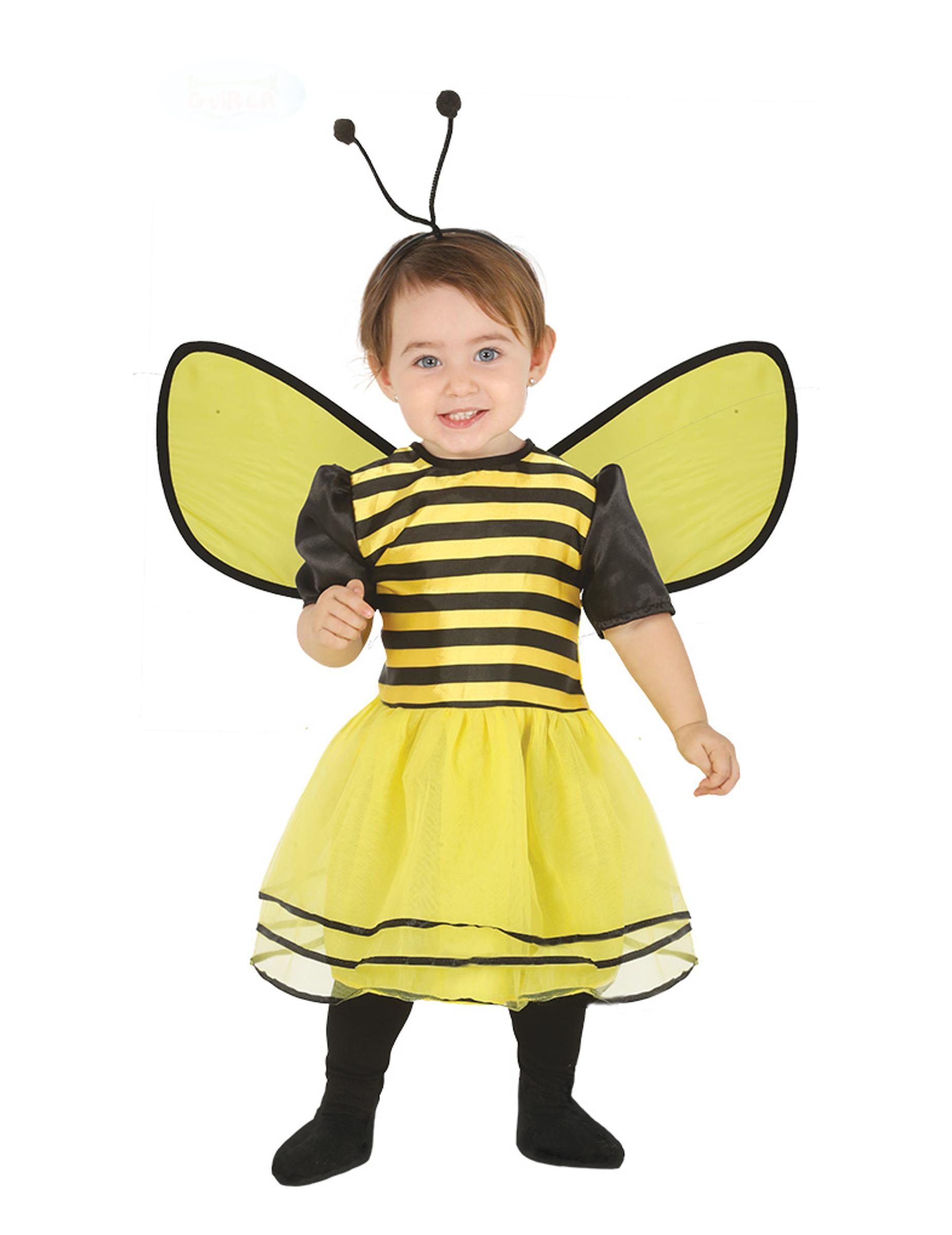 869076516f1f Costume da piccola ape per neonato: Costumi bambini,e vestiti di ...