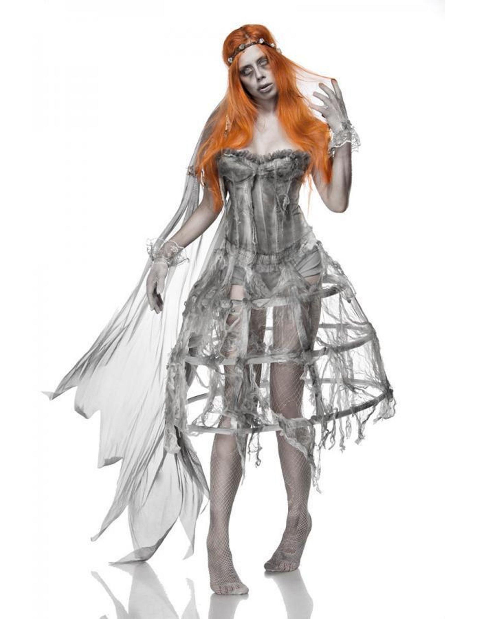 Vestiti Da Sposa Halloween.Costume Da Sposa Cadavere Per Donna Costumi Adulti E Vestiti Di