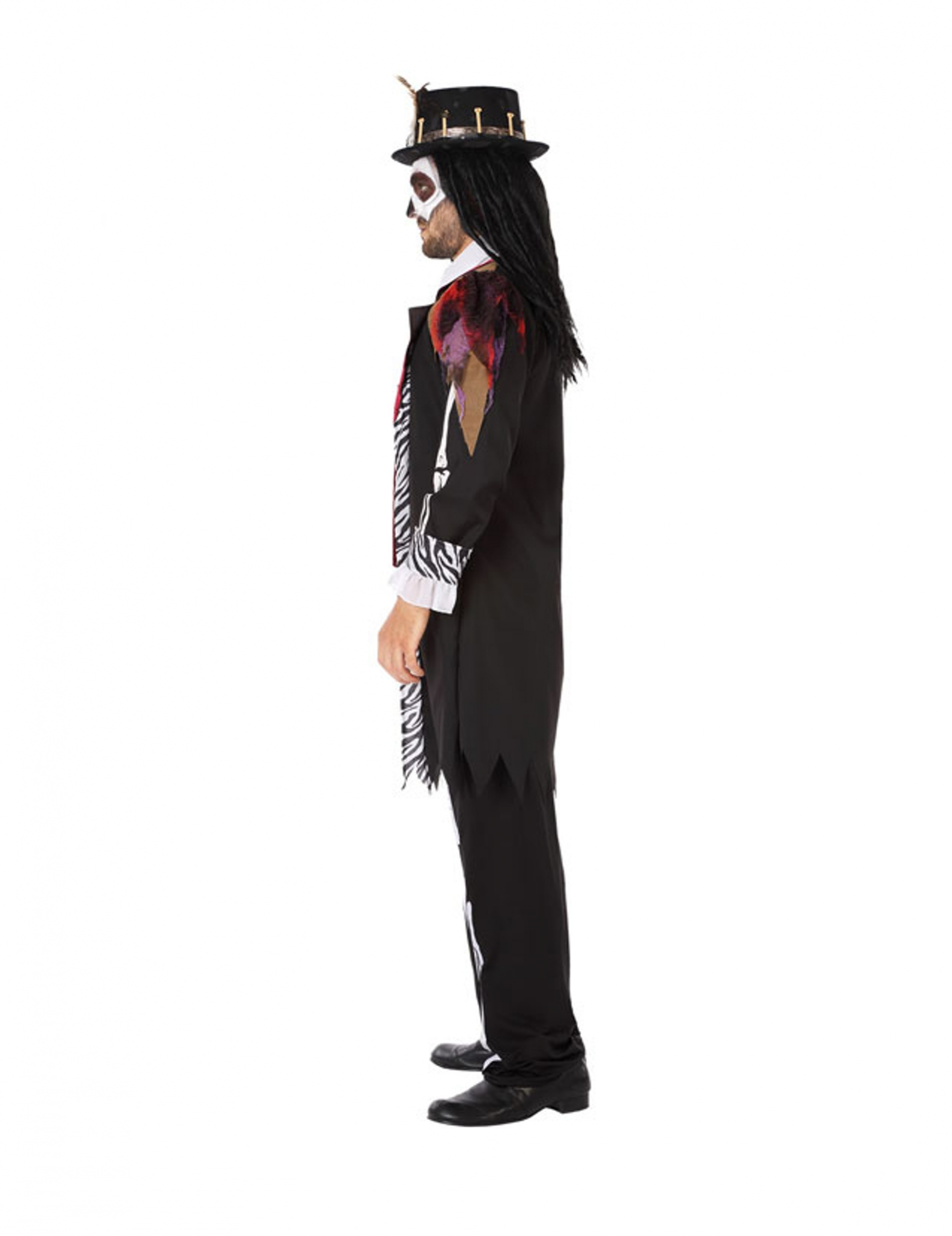 Da Donna Stregone Costume Halloween VOODOO MAGIA adulti donna