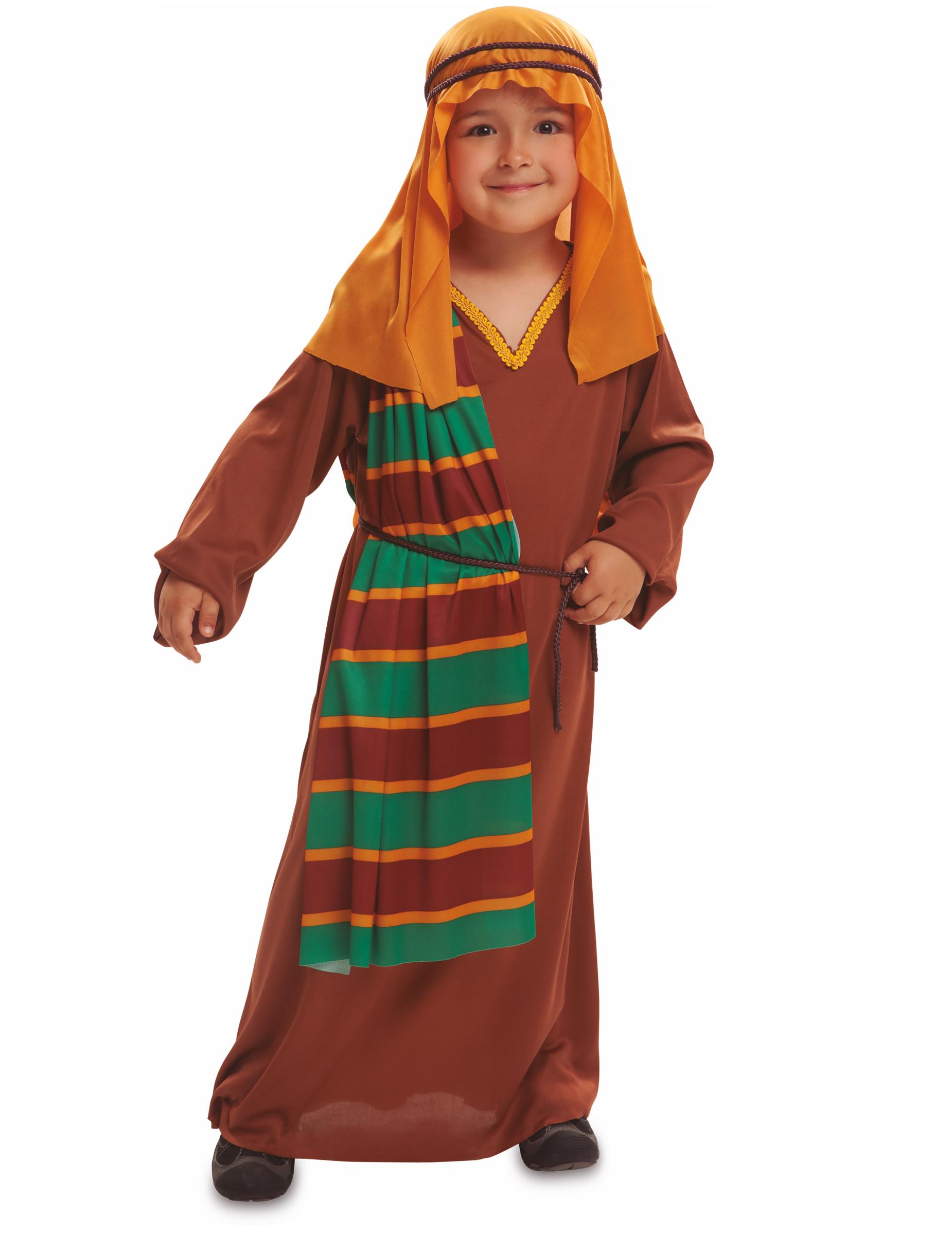 Costume per Bambini Pastore donna 7-9 Anni