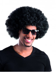 Parrucca afro/clown nera adulti