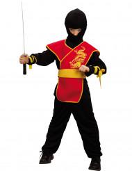 Costume da ninja con fascia per bambino