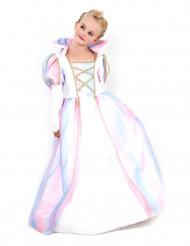 Costume principessa arcobaleno bambina