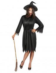 Costume da strega nera donna Halloween