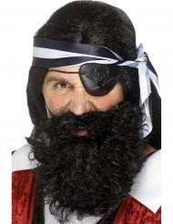 Barba da pirata adulto
