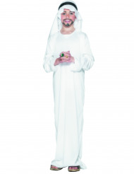 Costume principe arabo bianco bambino
