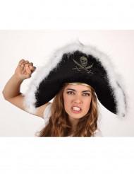 Cappello da pirata adulto
