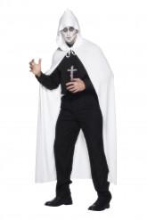 Mantello bianco da fantasma adulto
