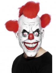 Maschera terrificante da clown adulto Halloween
