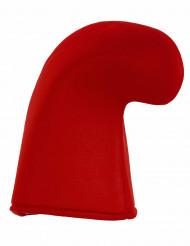 Cappello da elfo rosso adulto