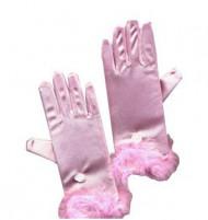 Guanti rosa principessa
