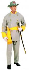 Costume da generale sudista per adulto