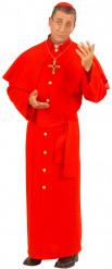 Costume cardinale rosso da uomo