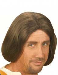 Parrucca marrone uomo