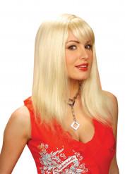 Parrucca capelli biondi per donna
