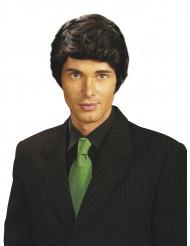 Parrucca nera uomo da gentleman