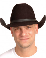 Cappello Arizona nero cowboy adulto