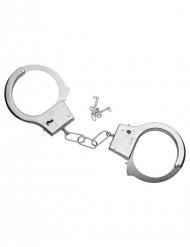 Manette in metallo con chiavi