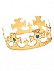 Corona in oro per uomo