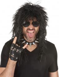 Parrucca Hard Rocker uomo Halloween