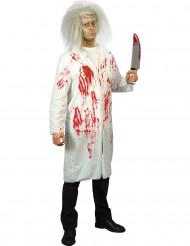Costume dottore insanguinato uomo halloween