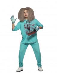 Costume dottore pazzo uomo