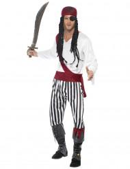 Costume da pirata del sud per uomo