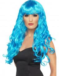 Parrucca da sirena crespa donna