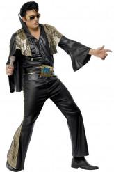 Costume in nero Elvis Presley™ uomo