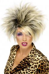 Parrucca bionda selvaggia donna