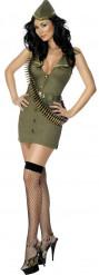 Costume soldatessa sexy donna