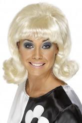 Parrucca bionda anni 60 donna