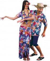 Costume coppia hawaiani