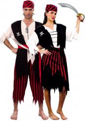 Costume coppia pirati