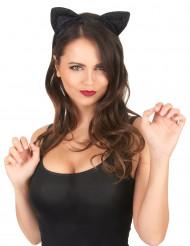 Orecchie da gatto nere