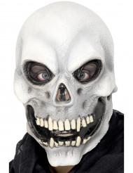 Maschera da scheletro adulto Halloween
