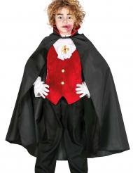 Mantello Dracula bambino halloween