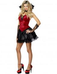 Costume vampiro di hallowen per donna