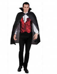 Mantello vampiro nero adulto halloween