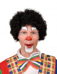 Parrucca afro clown nera adulto