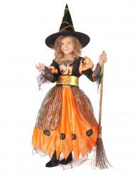 Costume strega per bambina Halloween