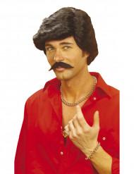 Parrucca e baffi uomo