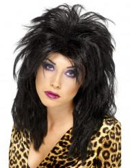 Parrucca Pop star nera donna