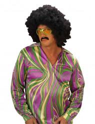 Costume camicia disco multicolore uomo
