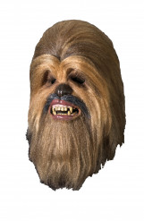 Maschera lusso Chewbecca Star Wars™ adulto