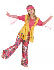 Costume hippie multicolore ragazza