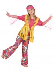 Costume hippie multicolore ragazza