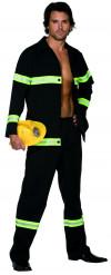 Costume sexy da pompiere uomo