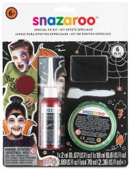 Kit effetti speciali ferite Halloween Snazaroo