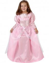 Costume principessa farfalle rosa bambina